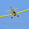 CropDuster 0022 A low flying Air Tractor Inc  AT-401 crop duster, N9179N, descends to spray a field in Wasco, California 8-2017 crop duster picture by Peter J  Mancus     DONEwt