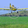CropDuster 0026 A low flying Air Tractor Inc  AT-401 crop duster, N9179N, spraying a field in Wasco, California 8-2017 crop duster picture by Peter J  Mancus     DONEwt