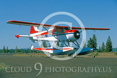 FLT-C 00050 de Havilland U-6A Beaver Trukee, Calif June 1990 by Peter J Mancus
