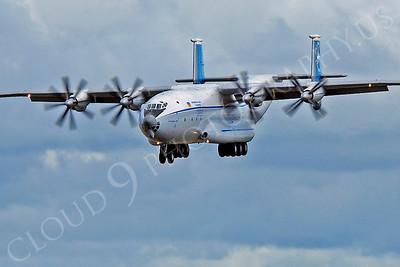 An-22 00040 Antonov An-22 Antheus Cock by Alasdair MacPhail