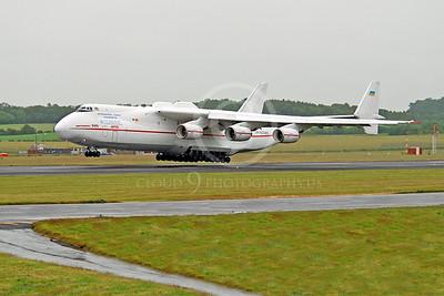 An-225 00016 Antonov An-225 Mriya Cossack International Cargo Transporter UR-82060 by Alasdair MacPhail
