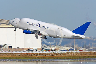B747-400LCF 00010 Boeing 747-400LCF Large Cargo Freighter Dreamlifter N249BA by Peter J Mancus