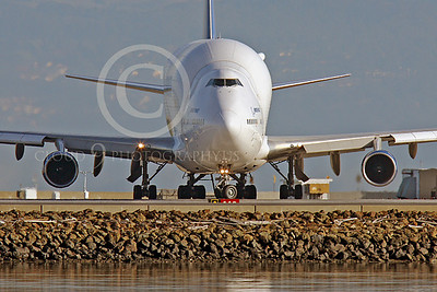 B747-400LCF 00015 Boeing 747-400LCF Large Cargo Freighter Dreamlifter N249BA by Peter J Mancus