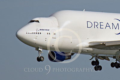 B747-400LCF 00018 Boeing 747-400LCF Large Cargo Freighter Dreamlifter N747BC by Peter J Mancus