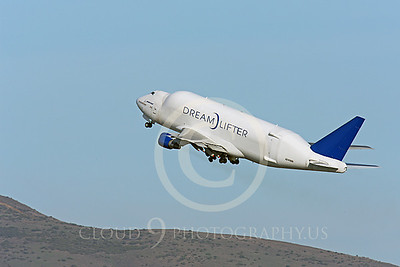 B747-400LCF 00026 Boeing 747-400LCF Large Cargo Freighter Dreamlifter N249BA by Peter J Mancus