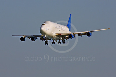 B747-400LCF 00012 Boeing 747-400LCF Large Cargo Freighter Dreamlifter by Peter J Mancus