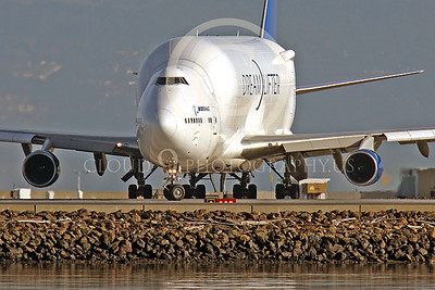 B747-400LCF 00023 Boeing 747-400LCF Large Cargo Freighter Dreamlifter N249BA by Peter J Mancus