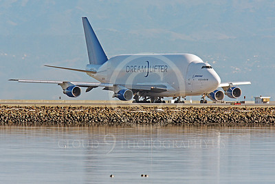 B747-400LCF 00009 Boeing 747-400LCF Large Cargo Freighter Dreamlifter N249BA by Peter J Mancus