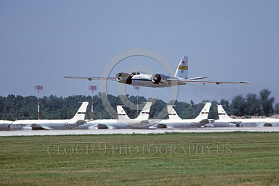 NASA-B-57 00010 A flying Martin NASA RB-57 Canberra Earth Survey aircraft 926 7-1981 NASA airplane picture by Michael Grove, Sr