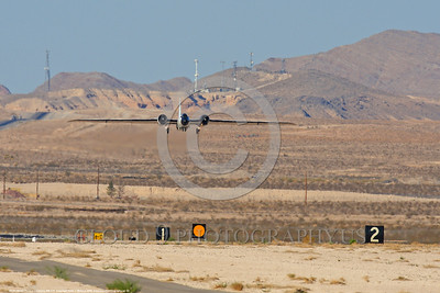 NASA-B-57 00032 A landing Martin-General Dynammics WB-57F NASA N926NA 63-13503A high altitude atmospheric research aircraft Nellis AFB 8-2009 airplane picture by Peter J  Mancus
