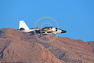 NASA-B-57 00034 A landing Martin-General Dynammics WB-57F NASA N926NA 63-13503A high altitude atmospheric research aircraft Nellis AFB 8-2009 airplane picture by Peter J  Mancus