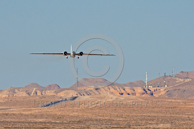 NASA-B-57 00022 A landing Martin-General Dynammics WB-57F NASA N926NA 63-13503A high altitude atmospheric research aircraft Nellis AFB 8-2009 airplane picture by Peter J  Mancus