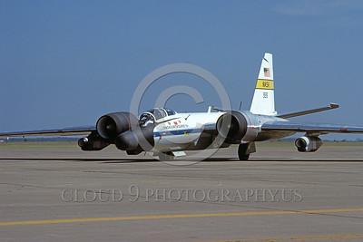 NASA-B-57 00015 A static Martin NASA RB-57 Canberra Earth Survey aircraft 926 3-1979 NASA airplane picture by Michael Grove, Sr