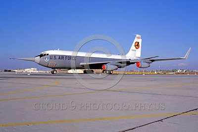 NASA-NC-135 00001 A static Boeing NC-135 NASA 53129 Edwards AFB NASA airplane picture by Peter J Mancus
