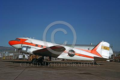 NASA-C-47 00001 A static Douglas C-47 Skytrain NASA airplane picture by Clay Jansson