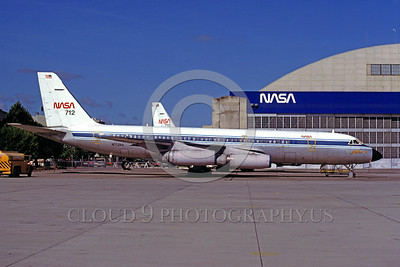 NASA-990 00001 A static Convair 990 NASA N712NA Ames 1983 NASA airplane picture by Peter B Lewis