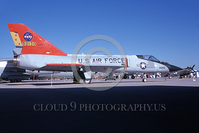 NASA-F-106 00013 A static Convair F-106A Delta Dart NASA 90130 Edwards AFB 10-1991 NASA airplane picture by Tom Chee