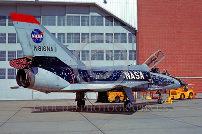 NASA-F-106 00001 A static Convair F-106B Delta Dart NASA N816NA 10-1982 NASA airplane picture by Stephen W D Wolf