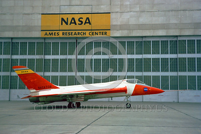 NASA-Skylancer 00001 A static Douglas Skylancer NASA 708 Ames NASA airplane picture by Clay Jansson