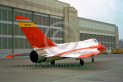 NASA-Skylancer 00003 A static Douglas Skylancer NASA 708 Ames NASA airplane picture by Clay Jansson