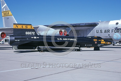 NASA-X-15 00003 A static North American Aviation X-15 NASA 66672 Edwards AFB 10-1999 NASA airplane picture by Clay Jansson