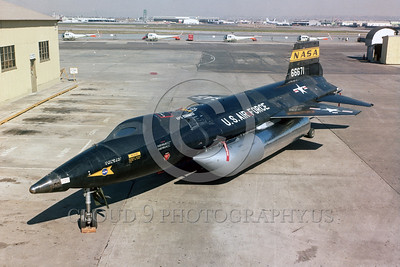 NASA-X-15 00001 A static North American X-15 official USAF photograph produced by Cloud 9 Photography