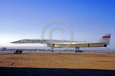 NASA-XB-70 00001 A static North American XB-70 Valkyrie NASA 20001 Edwards AFB NASA airplane picture by Clay Jansson