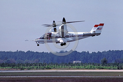 NASA-XV-15 00002 A flying NASA XV-15 Tiltrotor N702NA 5-1985 NASA airplane picture by Peter B Lewis