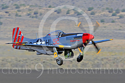 Race Airplane Abigail Rose 00002 North American P-51 Mustang race airplane Abigail Rose at Reno air races by Peter J Mancus