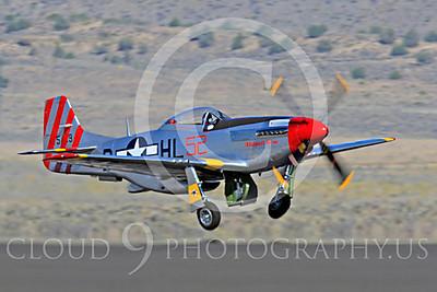 Race Airplane Abigail Rose 00002 North American P-51 Mustang race airplane Abigail Rose at Reno air races by Peter J Mancus