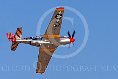 Race Airplane Abigail Rose 00006 North American P-51 Mustang race airplane Abigail Rose at Reno air races by Peter J Mancus