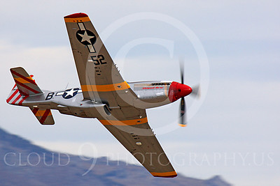 Race Airplane Abigail Rose 00032 North American P-51 Mustang race airplane Abigail Rose at Reno air races by Peter J Mancus
