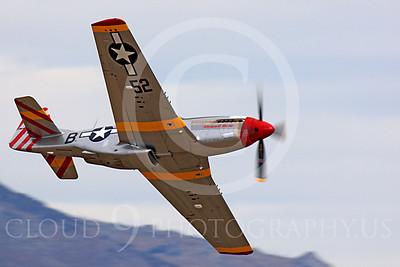 Race Airplane Abigail Rose 00032 North American P-51 Mustang race airplane Abigail Rose at Reno air races by Peter J Mancus