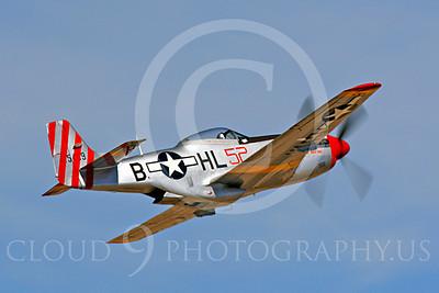 Race Airplane Abigail Rose 00024 North American P-51 Mustang race airplane Abigail Rose at Reno air races by Peter J Mancus