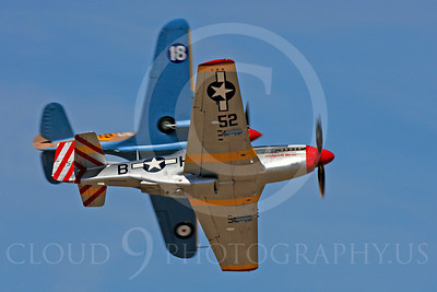 Race Airplane Abigail Rose 00008 North American P-51 Mustang race airplane Abigail Rose at Reno air races by Peter J Mancus