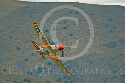 Race Airplane Abigail Rose 00034 North American P-51 Mustang race airplane Abigail Rose at Reno air races by Peter J Mancus