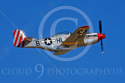 Race Airplane Abigail Rose 00026 North American P-51 Mustang race airplane Abigail Rose at Reno air races by Peter J Mancus