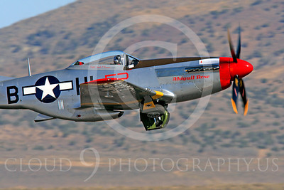 Race Airplane Abigail Rose 00004 North American P-51 Mustang race airplane Abigail Rose at Reno air races by Peter J Mancus