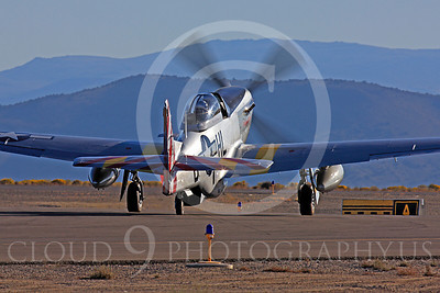 Race Airplane Abigail Rose 00003 North American P-51 Mustang race airplane Abigail Rose at Reno air races by Peter J Mancus