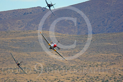 Race Airplane Abigail Rose 00016 North American P-51 Mustang race airplane Abigail Rose at Reno air races by Peter J Mancus
