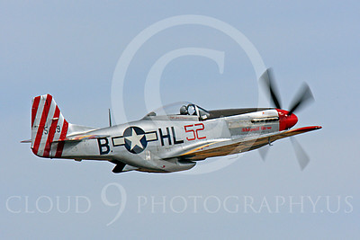 Race Airplane Abigail Rose 00030 North American P-51 Mustang race airplane Abigail Rose at Reno air races by Peter J Mancus