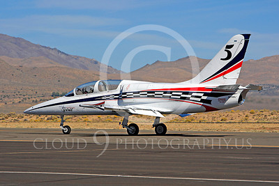 Race Airplane American Spirit 00015 Aero Vodochody L-39 Albatros N139BJ air racing plane at Reno air races by Peter J Mancus