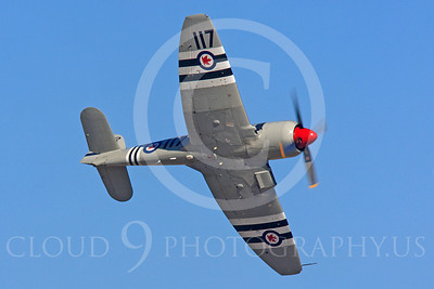 Race Airplane Bad Attitude 00004 Hawker Sea Fury Bad Attitude at Reno air races by Peter J Mancus