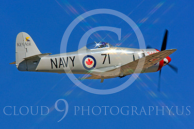 Race Airplane Sawbones 00006 Hawker Sea Fury Sawbones at Reno air races by Peter J Mancus