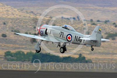 Race Airplane Sawbones 00002 Hawker Sea Fury Sawbones at Reno air races by Peter J Mancus