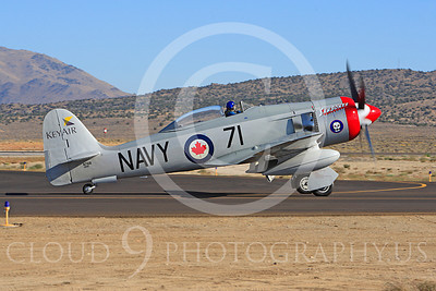 Race Airplane Sawbones 00011 Hawker Sea Fury Sawbones at Reno air races by Peter J Mancus