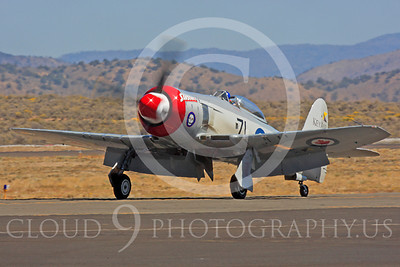 Race Airplane Sawbones 00005 Hawker Sea Fury Sawbones at Reno air races by Peter J Mancus