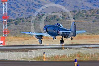 Race Airplane Sawbones 00029 Hawker Sea Fury Sawbones at Reno air races by Peter J Mancus