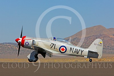 Race Airplane Sawbones 00003 Hawker Sea Fury Sawbones at Reno air races by Peter J Mancus