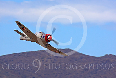 Race Airplane Sawbones 00012 Hawker Sea Fury Sawbones at Reno air races by Peter J Mancus